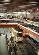 Bruxelles (1000) : Métro De Bruxelles, En Version Prémétro - Ligne 2, Station Porte De Namur. CPSM. - Vervoer (ondergronds)