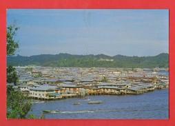Borneo Brunei Darussalam Water Houses On Stilts B. S. B. Negara ( Format 10,2x15 ) - Brunei