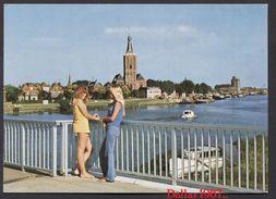 Groeten Uit Hasselt (ov ) , Gemeente Zwartewaterland, NOT Used  See The 2  Scans For Condition.( Originalscan !!! ) - Steenwijk
