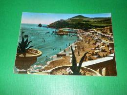 Cartolina Piombino - Spiaggia Salivoli 1955 - Livorno