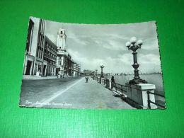 Cartolina Bari - Lungomare Nazario Sauro -- 1954 - Bari