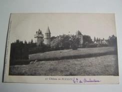 T31  Blanzy Les Mines Chateau Du PLESSIS ( Comte De Barbentane) 1901 - France