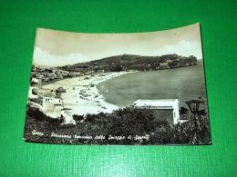 Cartolina Gaeta - Panorama Della Spiaggia Di Serapo 1956 - Latina