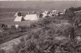 Photo Format Carte : Beg Meil  (29)  Vue Sur Le Terrain De Camping, 2cv   -  Dans Les Années 50 - Places