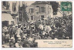 MAULE - Cavalcade Du 7 Mai 1911 - Mousquetaires Louis XIII - Maule