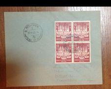 2329 Mi 862 Lubeck Brief Rand Gel. - Briefe U. Dokumente