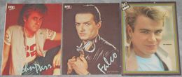 3 Pictures Of John Parr, Falco, Nik Kershaw From The 80's - Plakate & Poster
