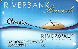 Riverbank Casino - Vicksburg, MS - Slot Card - Casino Cards