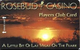 Rosebud Casino - Rosebud, SD - Blank Slot Card - Casino Cards