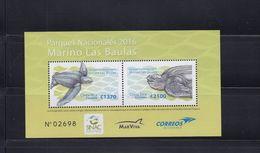 MNH SHEET COSTA RICA, 2016, National Park Las Baulas Turtles - Other
