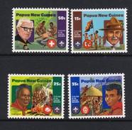 Papua New Guinea SG 426-429 1982 75th Anniversary Of Boy Scouts MNH Set - Papouasie-Nouvelle-Guinée