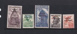 Papua New Guinea SG D2-D6 1960 Postage Due Mint Hinged - Papua New Guinea