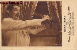 ERAN TRECE MANUEL ARBO JUAN TORENA ANA MARIA CUSTODIO RAOUL ROULIEN FOX CINEMA UNIO PARLAT - Afiches En Tarjetas