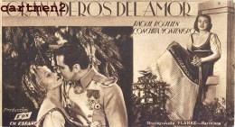 GRANADEROS DEL AMOR RAOUL ROULIEN CONCHITA MONTENEGRO PLANAS CINEMA UNIO BALUARD FOX - Afiches En Tarjetas