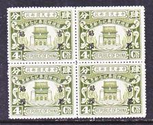 MANCHURIA  30 X 4   ** - Manchuria 1927-33