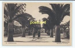 CASABLANCA, MOROCCO. OLD POSTCARD C.1920 #382. - Casablanca