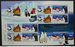 Antarctic - Corée Du Sud 2008 - Penguin - Base King Sejong ** - Timbres