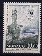 "Monaco Aerien YT 84 (PA) "" Station Télévision Monte-Carlo "" 1965 Neuf** - Posta Aerea"