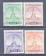 THAILAND  316-9    (o)   TEMPLE  MONUMENT - Thailand