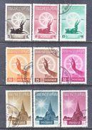 THAILAND  321-9    (o)   BIRTH  OF  BUDDHA - Thailand
