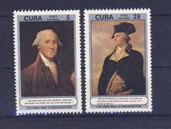 CUBA 1982 GEORGE WASHINGTON  YVERT N°2406/07  NEUF MNH** - George Washington