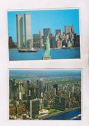 2 CPM NEW YORK CITY (voir Timbre) - Hudson River
