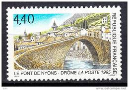 FRANCE- 1995 - Le Pont De Nyons   - Yvert 2956 - Unused Stamps