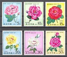 NORTH KOREA, Flowers, MINT NEVER HINGED SET 1979 **! - Scrittori