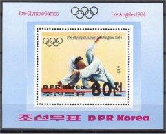 NORTH KOREA, OLYMPIC GAMES 1984 / JUDO S.S. MNH - Summer 1984: Los Angeles