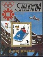 NORTH KOREA, OLYMPICS 1984, BOB, S.S. MNH **! - Winter 1984: Sarajevo