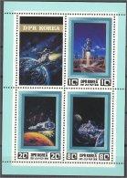 NORTH KOREA, CONQUEST OF THE SPACE 1982, MNH ** - Corée Du Nord
