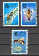 NORTH KOREA, HONEY BEES , MNH SET 1979 - Corée Du Nord