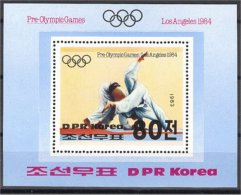 NORTH KOREA, OLYMPIC GAMES 1984 / JUDO S.S. MNH - Corée Du Nord