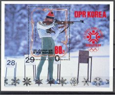 NORTH KOREA, OLYMPIC GAMES WINTER 1984 MNH - Corée Du Nord