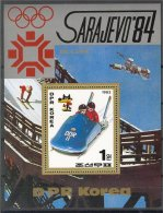 NORTH KOREA, OLYMPICS 1984, BOB, S.S. MNH **! - Corée Du Nord