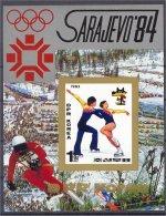 NORTH KOREA, OLYMPICS ARTISTIC SKATING, S.S. IMPERF.  NH **! - Corée Du Nord