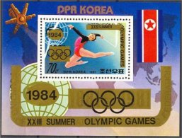 NORTH KOREA, SOUVENIR SHEET Olympic Games 1984 VF NH - Corée Du Nord