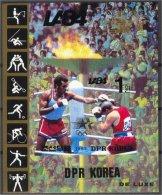 NORTH KOREA, SOUVENIR SHEET,  BOXING, IMPERF. VF MNH! - Corée Du Nord