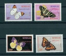SENEGAL, FULL SET BUTTERFLIES MNH SET - Farfalle