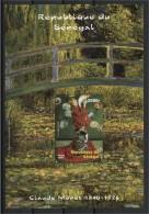 SENEGAL, SOUVENIR SHEET CLAUDE MONET 2002, MNH - Senegal (1960-...)