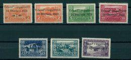 ALBANIA, Triumf'i Legalitetit 1924, LH SET - Albanie