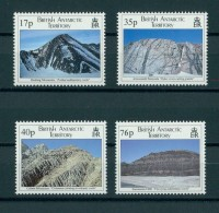 B.A.T / BRITISH ANTARCTIC TERRITORIES Geologic Formations, 1995 MNH SET - Territoire Antarctique Britannique  (BAT)