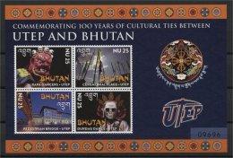 BHUTAN, UTEP AND BHUTAN SS AND MINISHEET 2014 - Bhutan