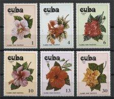 CUBA, FLOWERS MNH SET 1978 - Non Classificati
