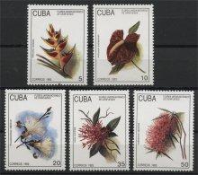 CUBA, FLOWERS, MNH SET 1993 - Non Classificati