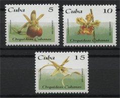 CUBA, FLOWERS, MNH SET 1996 - Non Classificati