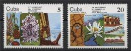 CUBA, WATER FLOWERS MNH SET 1982 - Non Classificati