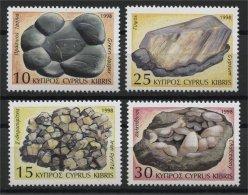CYPRUS, MINERALS, MNH SET 1998 - Minéraux