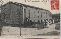 PARIS  XIX  HOPITAL  BASTION 29  PAVILLON D'ISOLEMENT - Arrondissement: 19