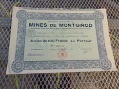 MINES DE MONTGIROD - Unclassified